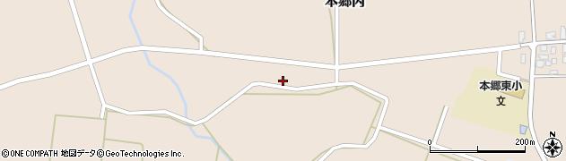 山形県西村山郡大江町本郷丙134周辺の地図