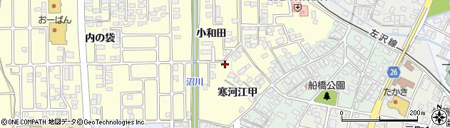 山形県寒河江市寒河江甲1724周辺の地図