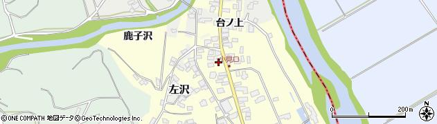 山形県西村山郡大江町藤田36周辺の地図