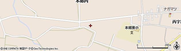 山形県西村山郡大江町本郷丙439周辺の地図