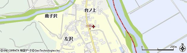 山形県西村山郡大江町藤田32周辺の地図