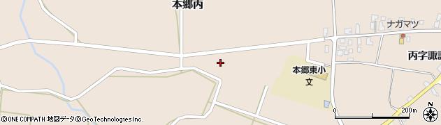 山形県西村山郡大江町本郷丙438周辺の地図