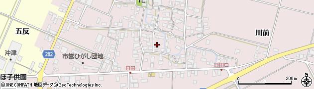 山形県寒河江市日田551周辺の地図