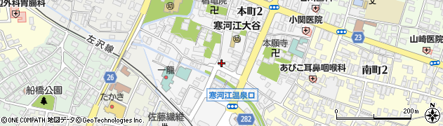 観音堂周辺の地図