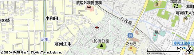 山形県寒河江市船橋町10周辺の地図