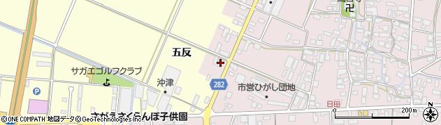山形県寒河江市日田五反20-1周辺の地図
