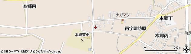 山形県西村山郡大江町本郷丙282周辺の地図