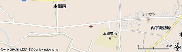 山形県西村山郡大江町本郷丙880周辺の地図