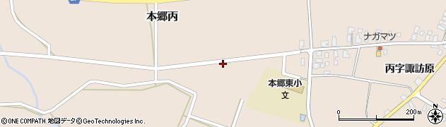 山形県西村山郡大江町本郷丙271周辺の地図