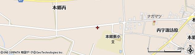 山形県西村山郡大江町本郷丙270周辺の地図