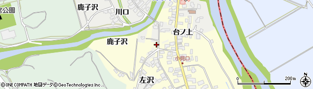 山形県西村山郡大江町藤田474周辺の地図