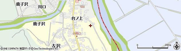 山形県西村山郡大江町藤田692周辺の地図