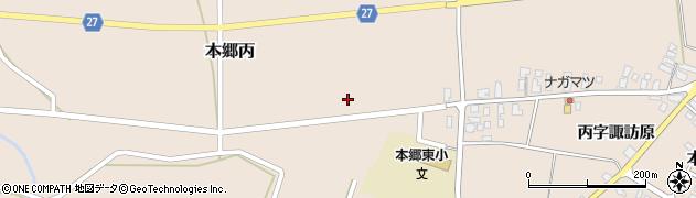 山形県西村山郡大江町本郷丙183周辺の地図