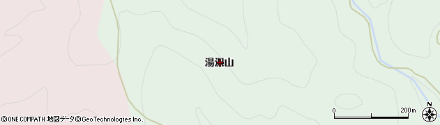 山形県西村山郡大江町沢口湯沢山周辺の地図