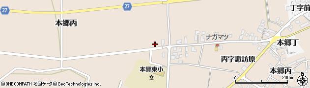 山形県西村山郡大江町本郷丙257周辺の地図
