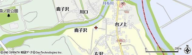 山形県西村山郡大江町左沢1689-3周辺の地図