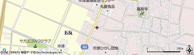 山形県寒河江市日田五反11周辺の地図