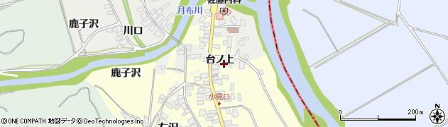 山形県西村山郡大江町藤田12周辺の地図