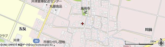 山形県寒河江市日田536周辺の地図