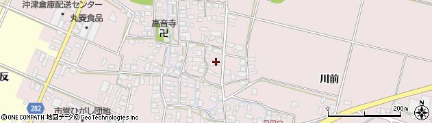 山形県寒河江市日田400周辺の地図