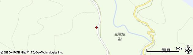 山形県西村山郡大江町貫見126周辺の地図