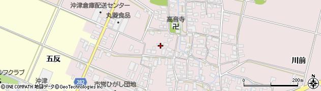 山形県寒河江市日田529周辺の地図