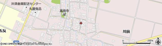 山形県寒河江市日田398周辺の地図