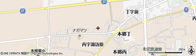 山形県西村山郡大江町本郷丙1652周辺の地図