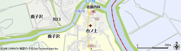 山形県西村山郡大江町藤田9周辺の地図