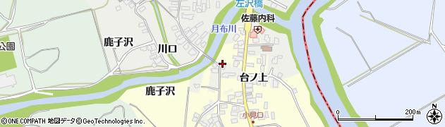 山形県西村山郡大江町左沢1692周辺の地図