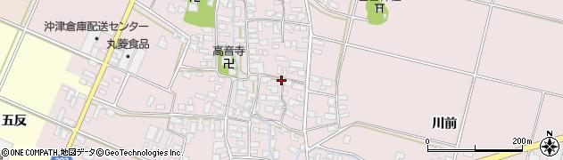 山形県寒河江市日田391周辺の地図