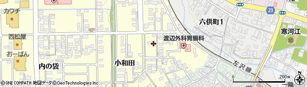山形県寒河江市寒河江小和田29周辺の地図