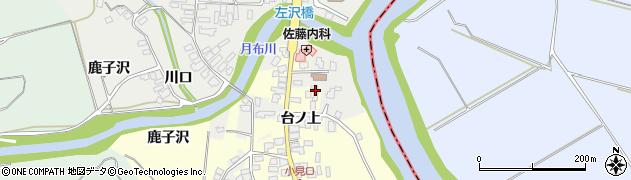 山形県西村山郡大江町藤田10周辺の地図