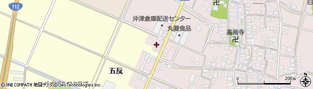 山形県寒河江市日田五反51周辺の地図