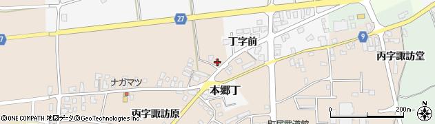 山形県西村山郡大江町本郷丙606周辺の地図