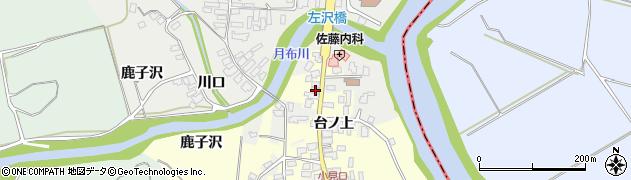 山形県西村山郡大江町左沢1705周辺の地図