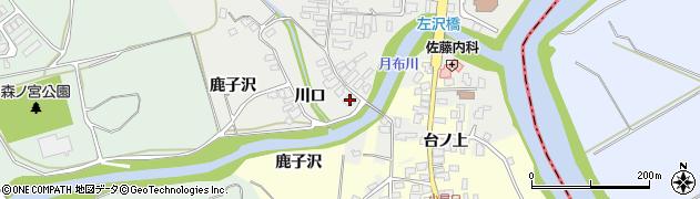 山形県西村山郡大江町左沢555周辺の地図