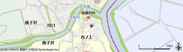 山形県西村山郡大江町左沢1704周辺の地図