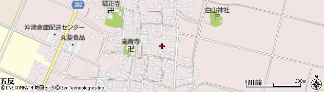 山形県寒河江市日田368周辺の地図