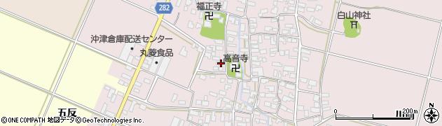 山形県寒河江市日田513周辺の地図