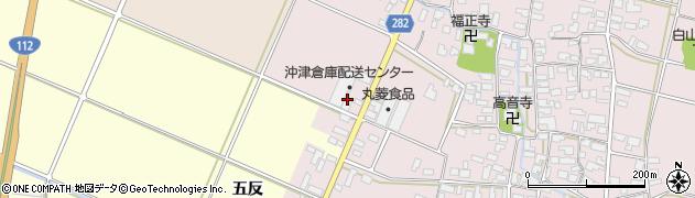 山形県寒河江市日田弓貝63周辺の地図