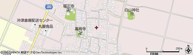 山形県寒河江市日田365周辺の地図