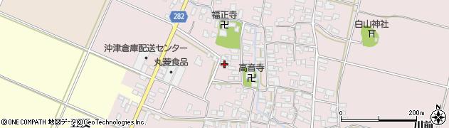 山形県寒河江市日田50周辺の地図