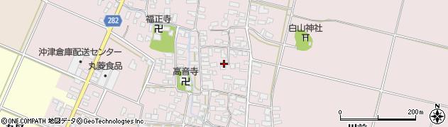 山形県寒河江市日田364周辺の地図