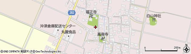 山形県寒河江市日田509周辺の地図
