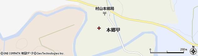 山形県西村山郡大江町本郷甲159周辺の地図