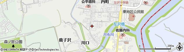 山形県西村山郡大江町左沢473周辺の地図