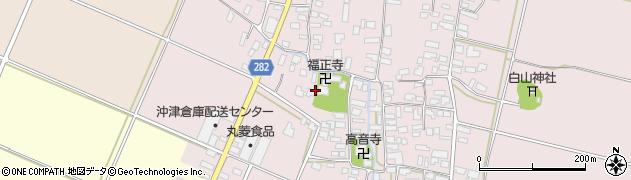 山形県寒河江市日田506周辺の地図