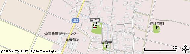 山形県寒河江市日田508周辺の地図