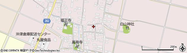 山形県寒河江市日田353周辺の地図